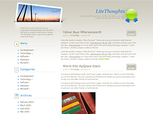 LiteThoughts screenshot