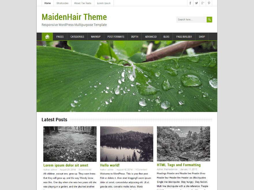 MaidenHair screenshot