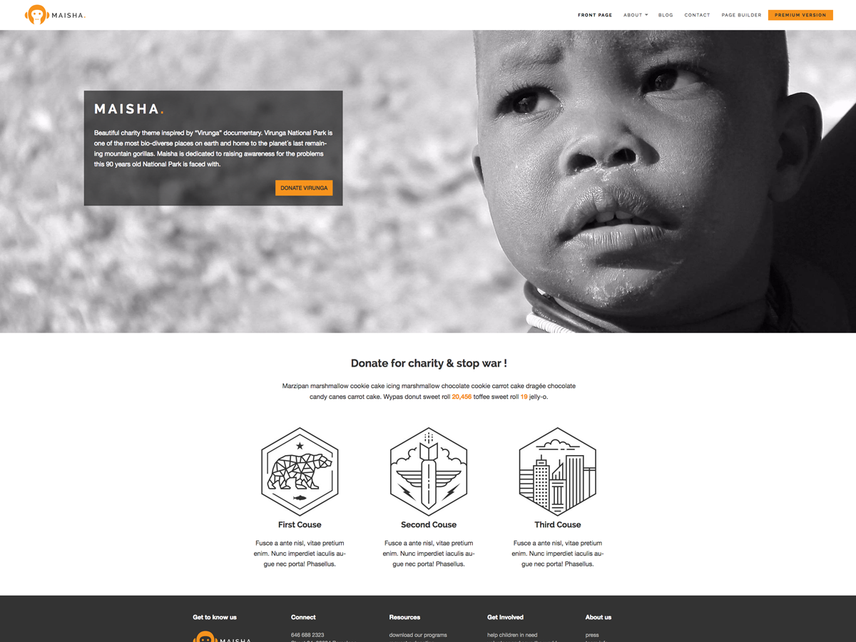 Top 15 Best Free Charity WordPress Themes 2019 14