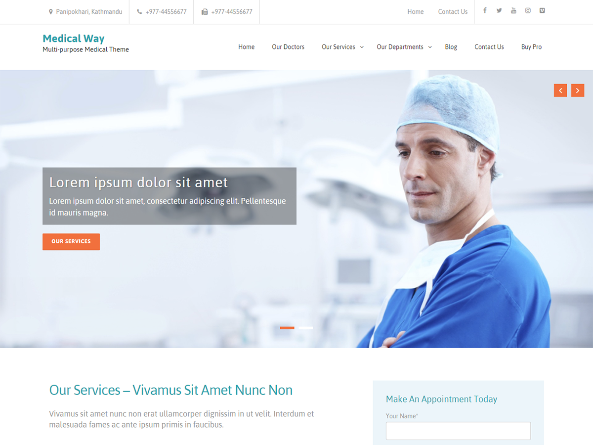 25+ Free Medical WordPress Themes 2019 2