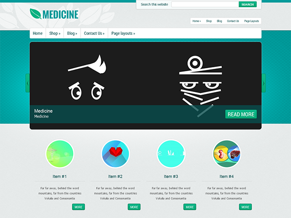 Medicine screenshot