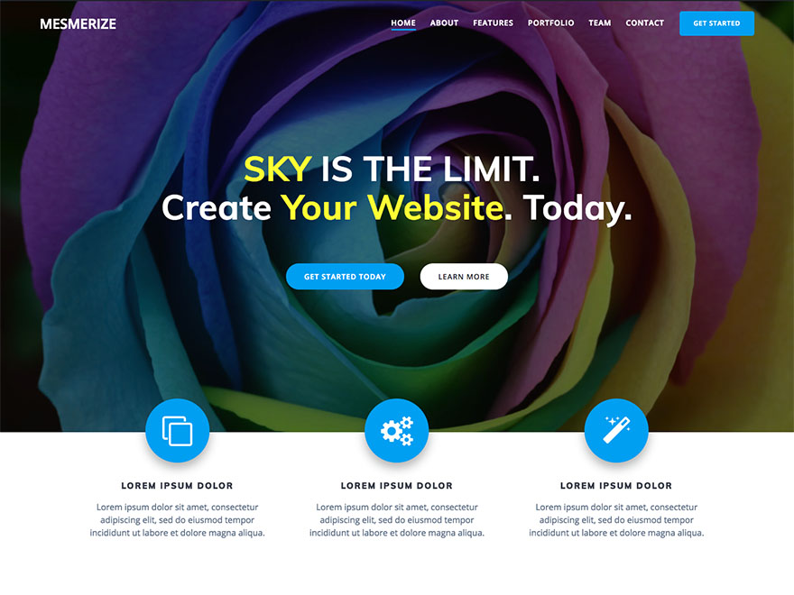 Top 35+ Free Bootstrap WordPress Themes [sigma_current_year] 25