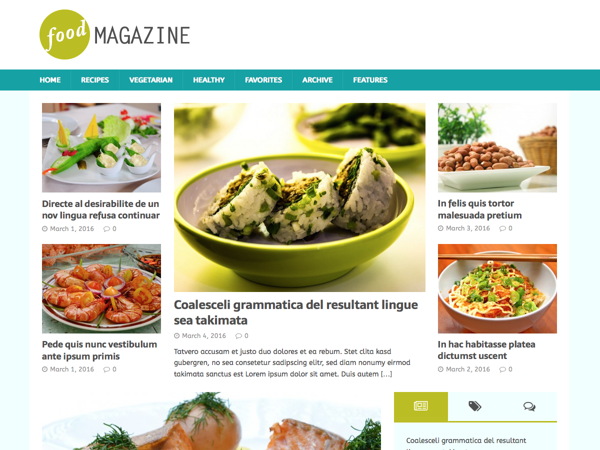 15 best free food blog themes for wordpress for 2018 mh foodmagazine forumfinder Choice Image