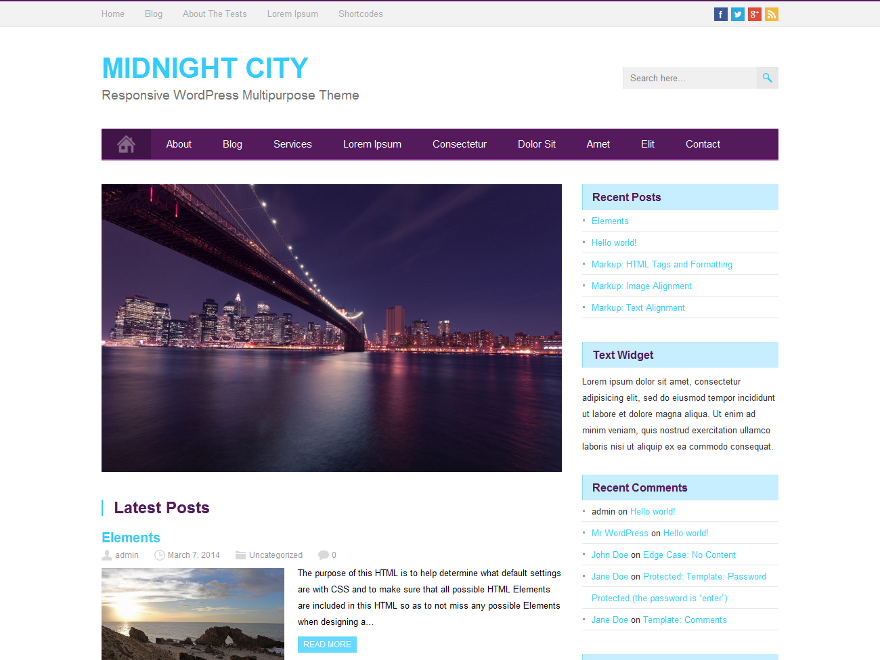 MidnightCity screenshot