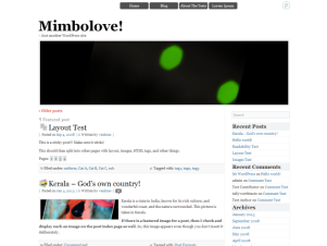 Mimbolove screenshot