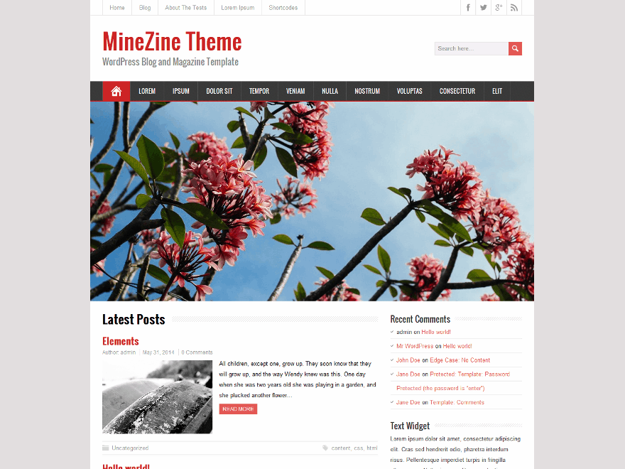 MineZine screenshot