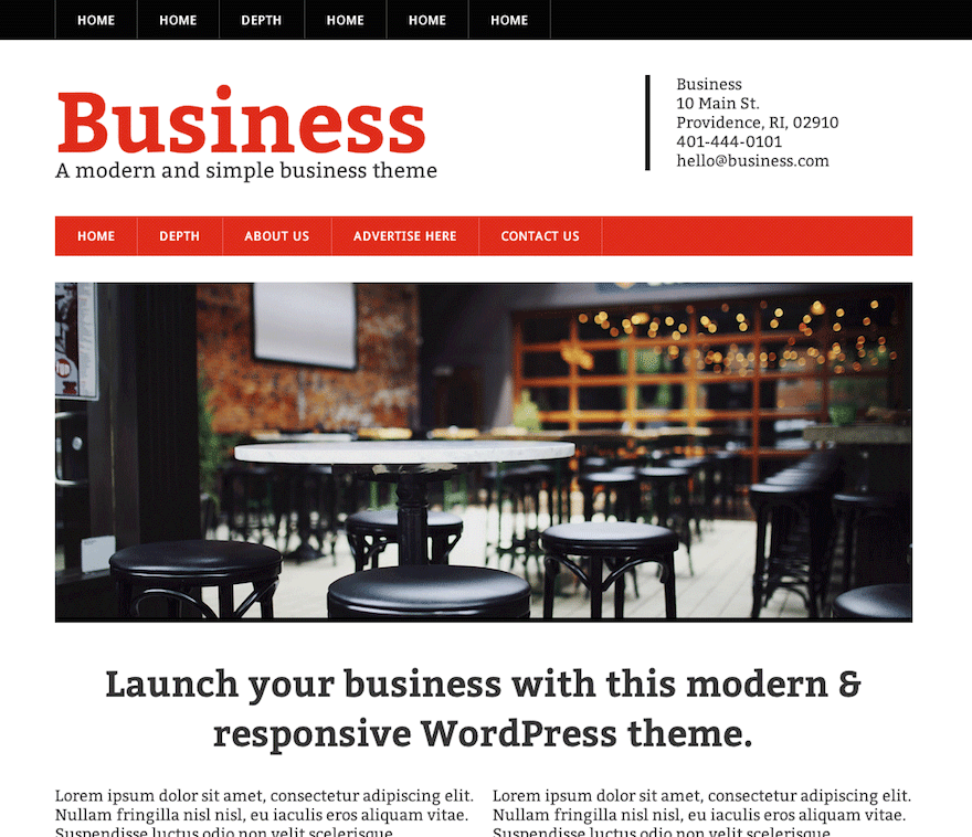 Modern Business screenshot
