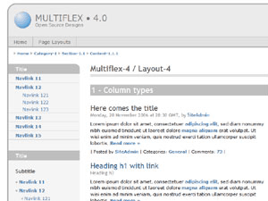 Multiflex-4 screenshot