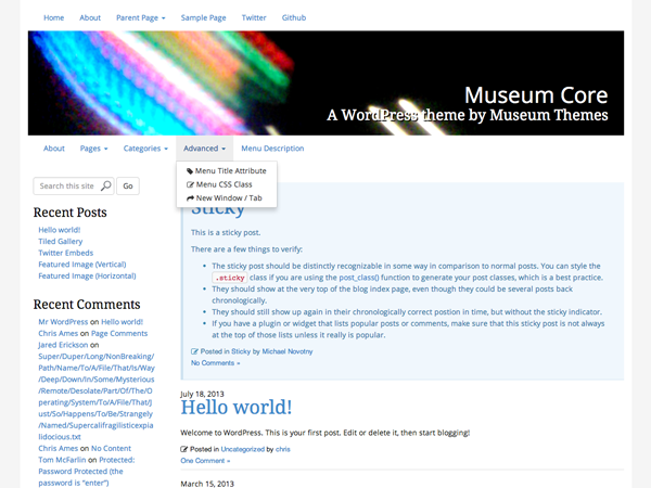 Museum Core screenshot
