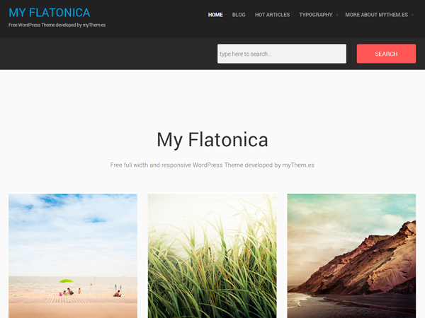 my flatonica screenshot