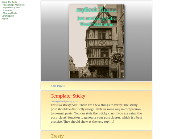 myBook screenshot