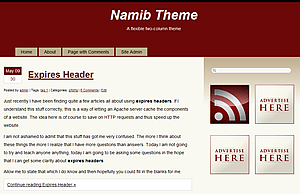 Namib screenshot
