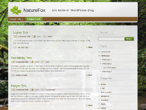 NatureFox screenshot