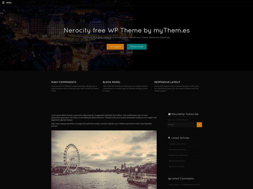 Nerocity screenshot