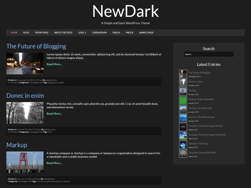 NewDark screenshot