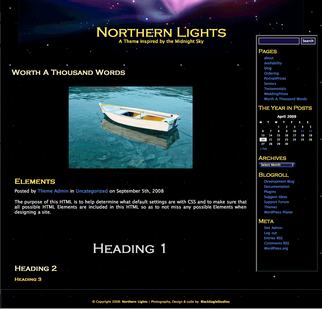 Northern Lights screenshot