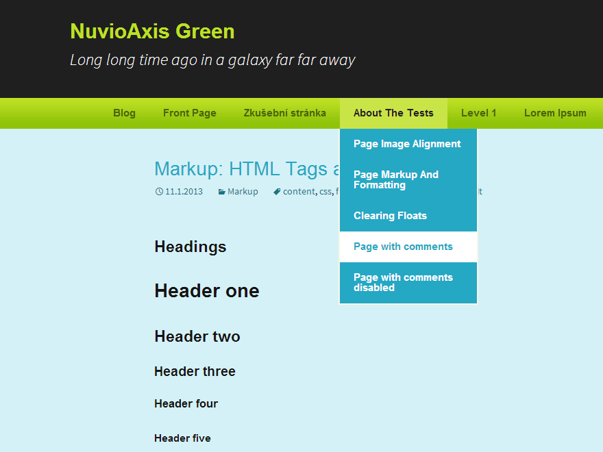 NuvioAxis Green screenshot