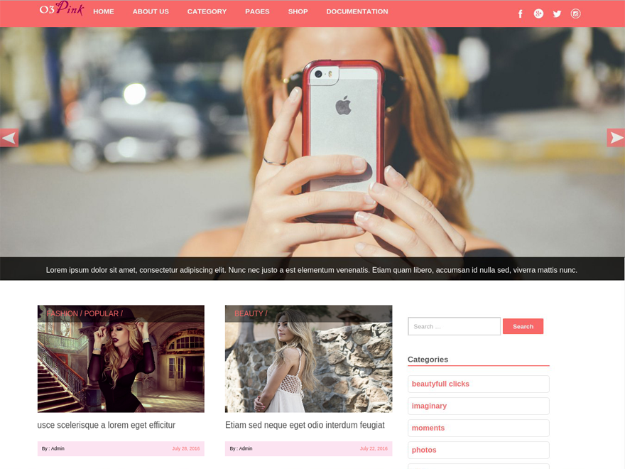 30+ Best Free Fashion WordPress Themes for Blogs [sigma_current_year] 12