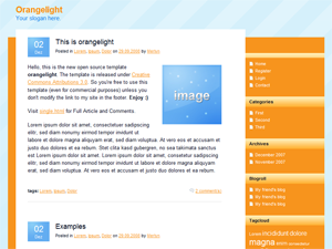 Orangelight screenshot