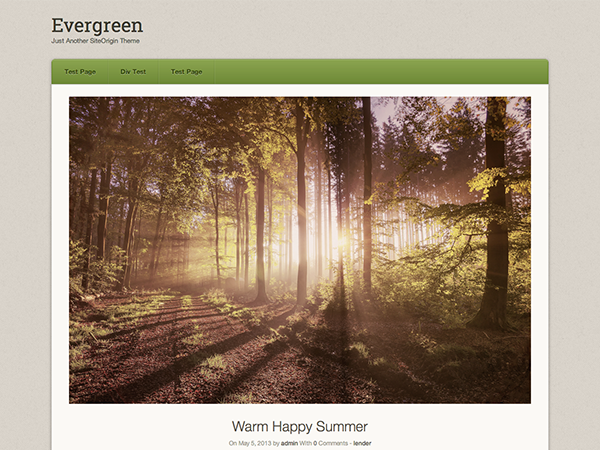 Origami Evergreen screenshot