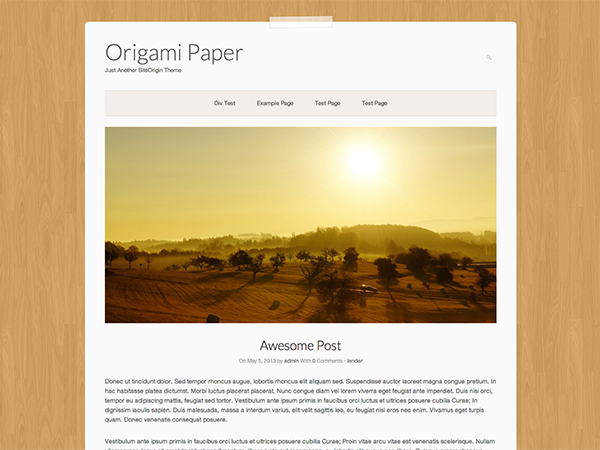 Origami Paper screenshot