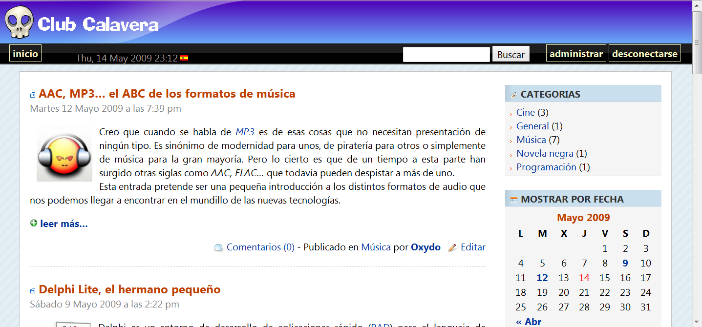 Oxydo screenshot