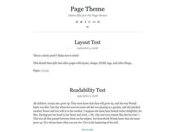 Page screenshot