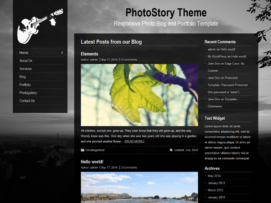 PhotoStory screenshot