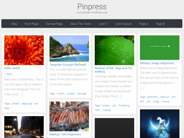 pinpress screenshot