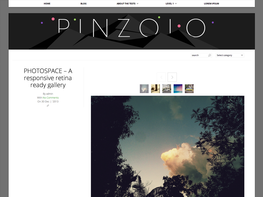 Pinzolo screenshot