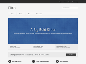 Template WordPress Pitch