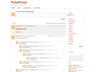 PulsePress screenshot