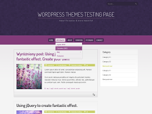 Purple WordPress Themes WordPress › Theme Directory « Free WordPress Themes
