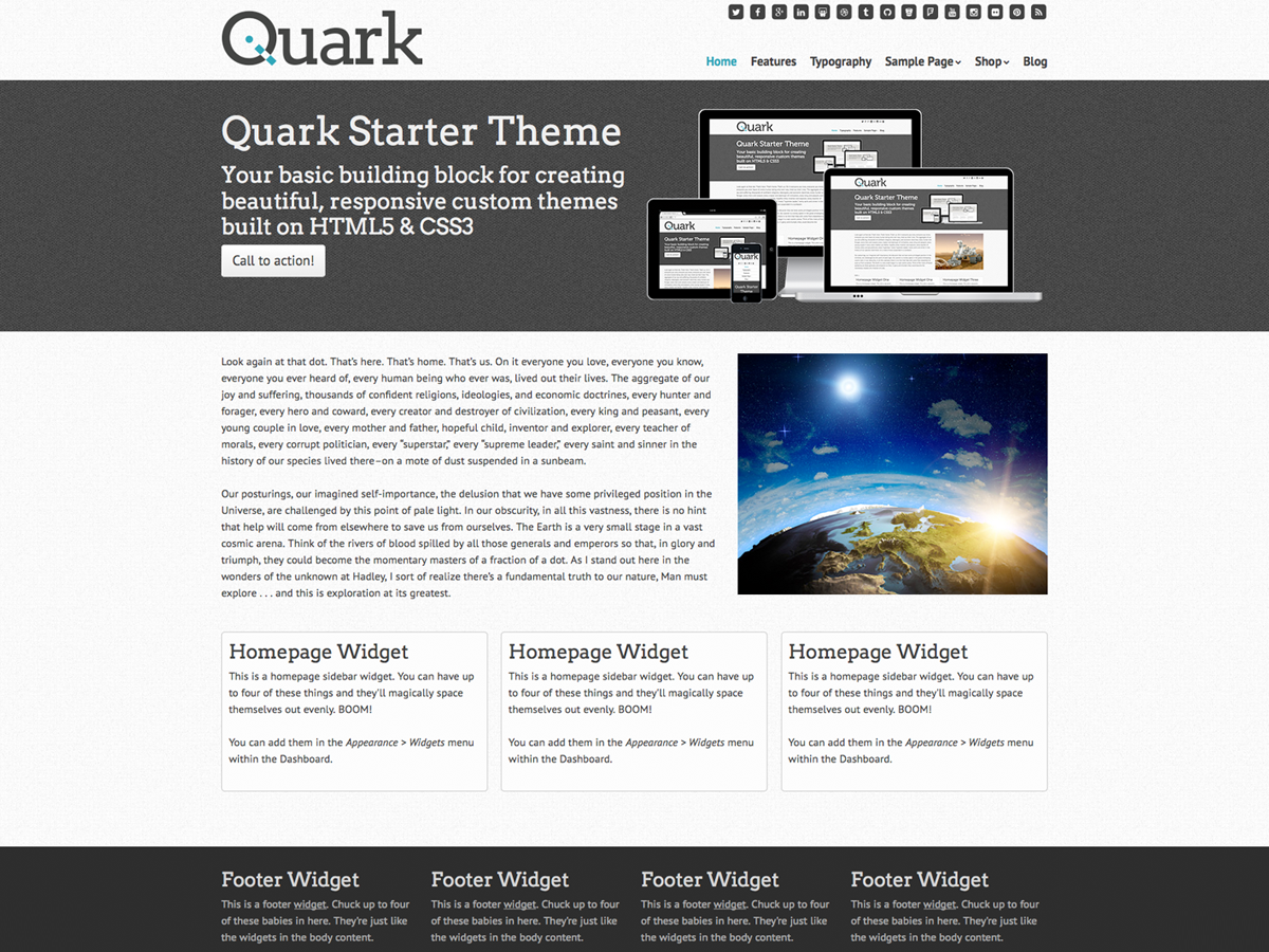 Quark screenshot