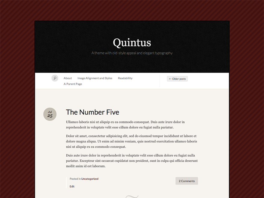 Quintus screenshot