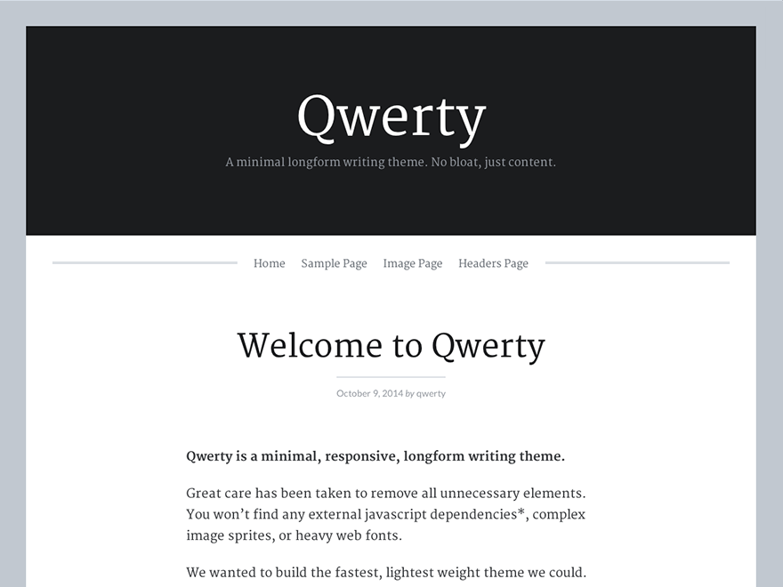 Qwerty screenshot