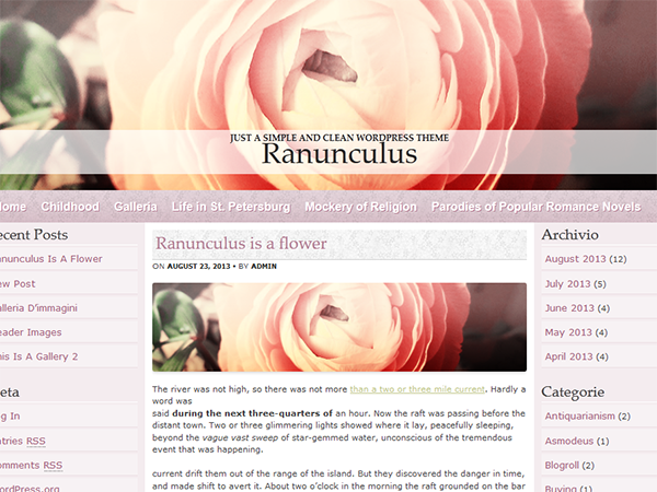Ranunculus screenshot