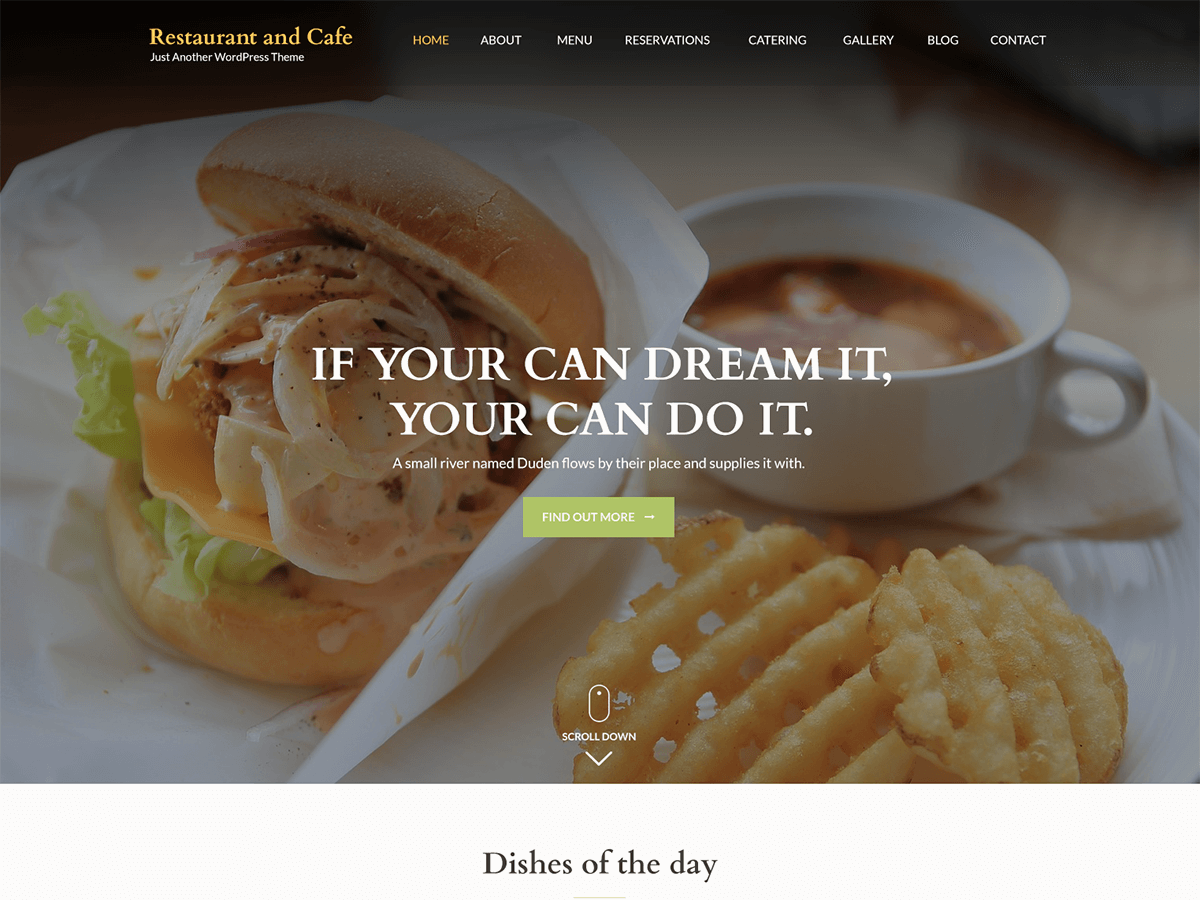 20+ Free Restaurant WordPress Themes 2019 2