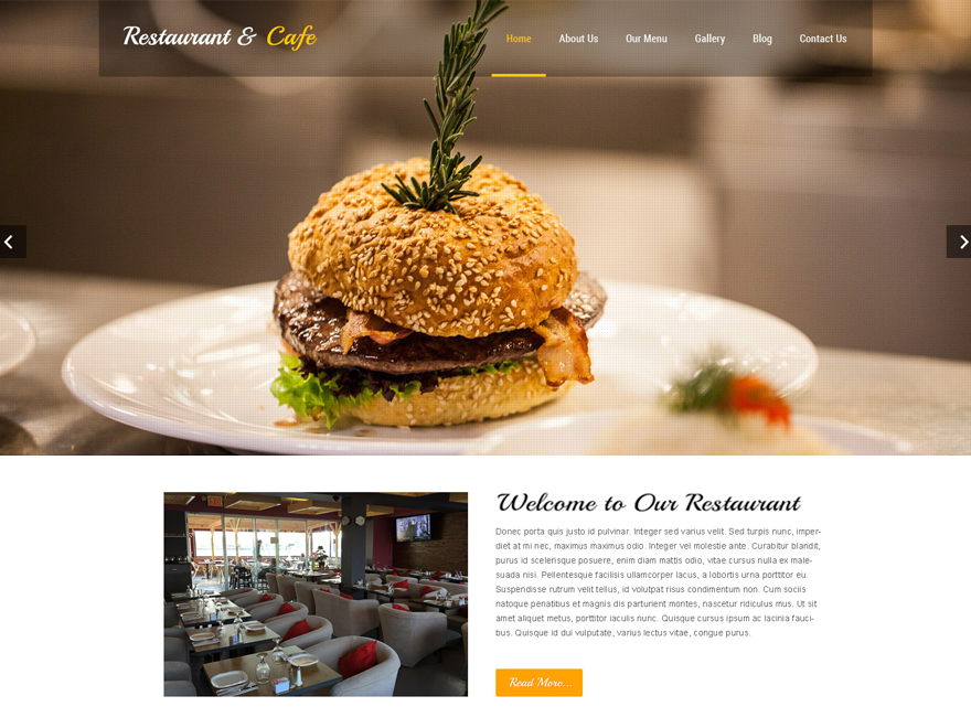 20+ Free Restaurant WordPress Themes 2019 20