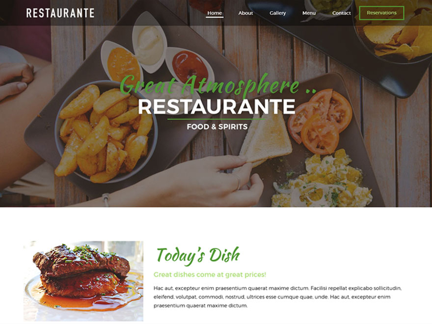 20+ Free Restaurant WordPress Themes 2019 13