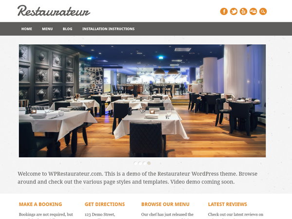Restaurateur screenshot