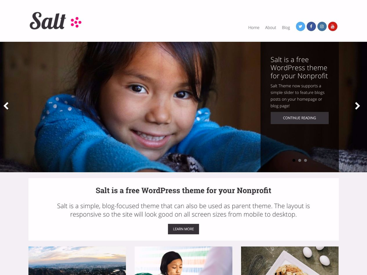 Top 15 Best Free Charity WordPress Themes 2019 7