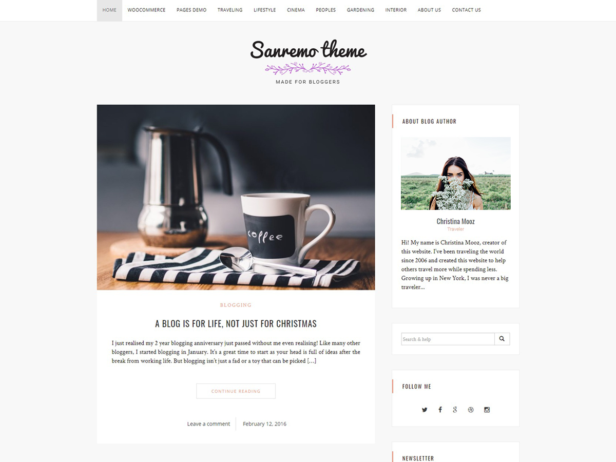 30+ Best Free Fashion WordPress Themes for Blogs [sigma_current_year] 26