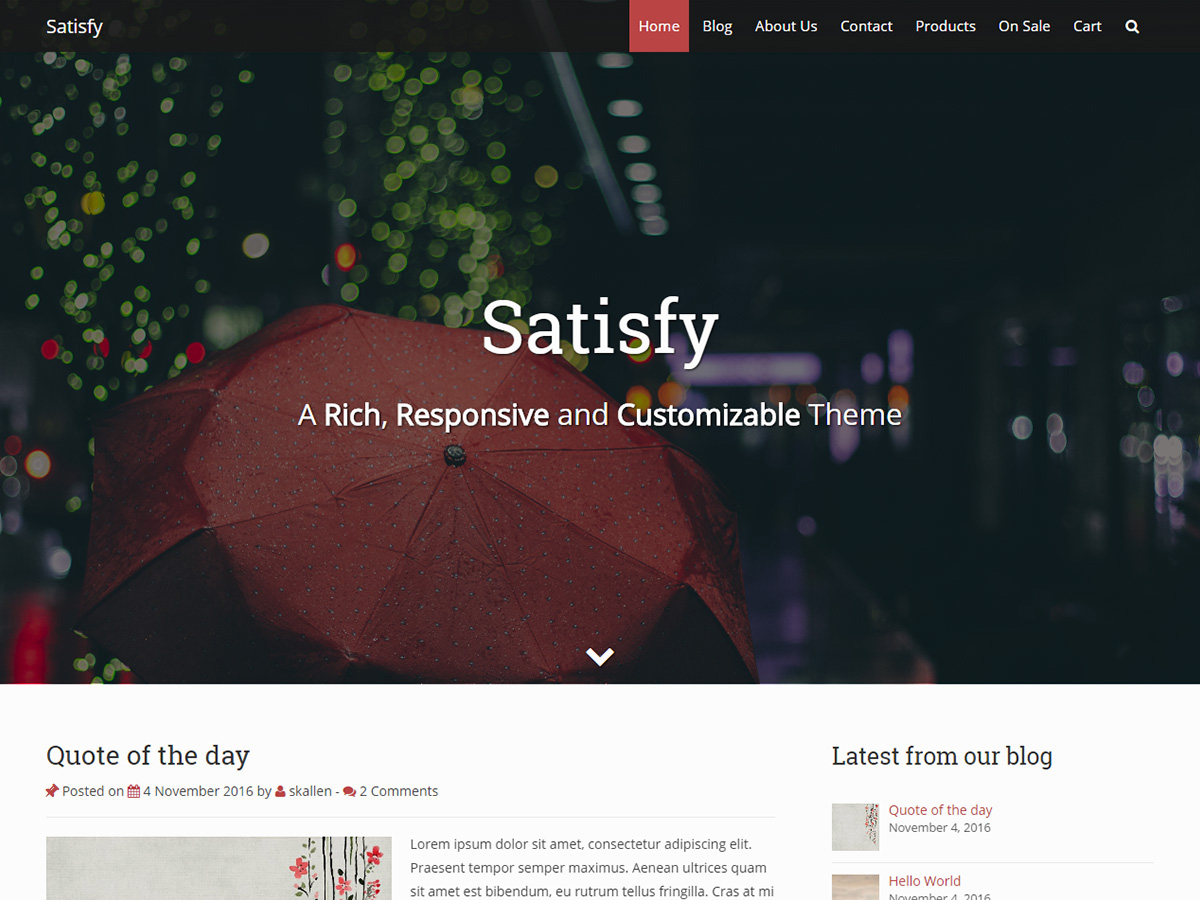 Top 35+ Free Bootstrap WordPress Themes [sigma_current_year] 1