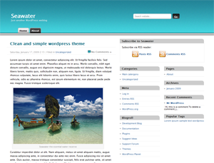 seawater screenshot