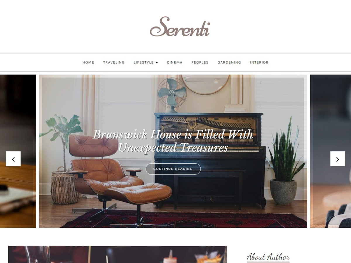 30+ Best Free Fashion WordPress Themes for Blogs [sigma_current_year] 15