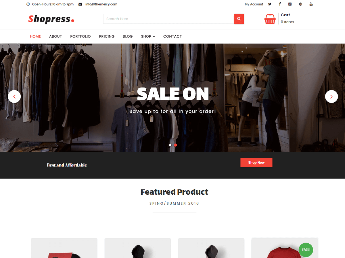 30+ Best Free Fashion WordPress Themes for Blogs [sigma_current_year] 13