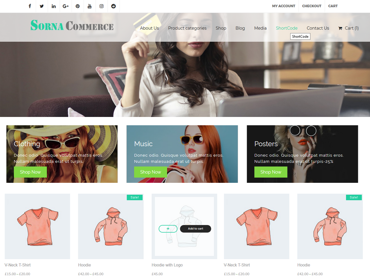 30+ Best Free Fashion WordPress Themes for Blogs [sigma_current_year] 7