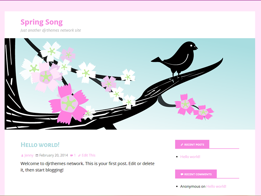 Spring Song screenshot