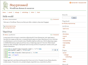 staypressed screenshot